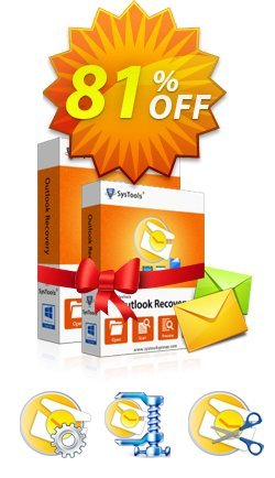 Special Offer - SysTools Outlook Toolbox Coupon discount SysTools Summer Sale. Promotion: big deals code of Special Offer - SysTools Outlook Toolbox 2019
