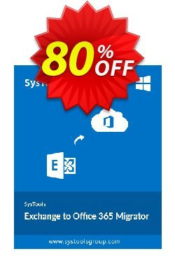 SysTools Exchange to Office 365 Migrator Coupon, discount SysTools Summer Sale. Promotion: wonderful deals code of SysTools Exchange to Office365 Migrator - Site License 2021