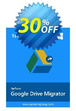 SysTools Migrator - Google Drive + Managed Services Coupon discount Affiliate Promotion - best discount code of SysTools Migrator (Google Drive) + Managed Services 2020