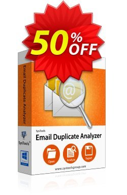 SysTools Email Duplicate Analyzer - Enterprise  Coupon discount SysTools coupon 36906 -
