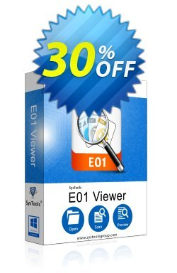 SysTools E01 Viewer Pro Coupon discount SysTools Summer Sale. Promotion: amazing offer code of SysTools E01 Viewer Pro 2019