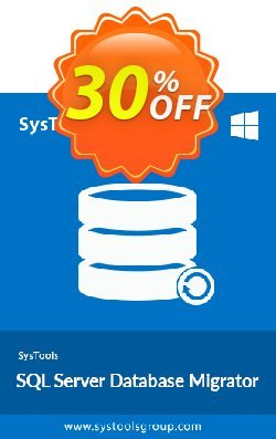 SysTools SQL Server Database Migrator Coupon discount SysTools Summer Sale - imposing promo code of SysTools SQL Server Database Migrator 2019