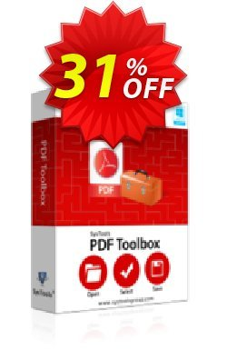 SysTools PDF Toolbox - All License type  Coupon discount SysTools Frozen Winters Sale