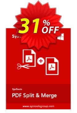 SysTools PDF Split & Merge - All license type  Coupon discount SysTools Frozen Winters Sale - Staggering discount code of SysTools PDF Split & Merge 2020