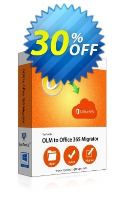 SysTools OLM to Office 365 - Multi-user  Coupon discount SysTools Frozen Winters Sale - Impressive offer code of SysTools OLM to Office 365 2019