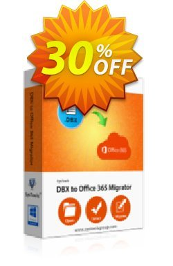 SysTools DBX to Office 365 Migrator - Single User License  Coupon discount SysTools Frozen Winters Sale - Stirring deals code of SysTools DBX to Office 365 - One License 2020