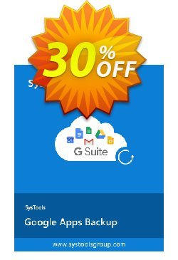 SysTools Google Apps Backup - 100 Users License Coupon discount SysTools coupon 36906 -