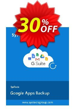 Google Apps Backup - 50 to 100 Users License Coupon, discount SysTools coupon 36906. Promotion: