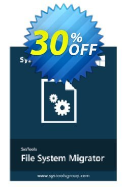 SysTools File System Migrator Coupon discount SysTools Frozen Winters Sale