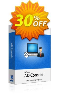 AD Console - Personal License Coupon, discount SysTools coupon 36906. Promotion: