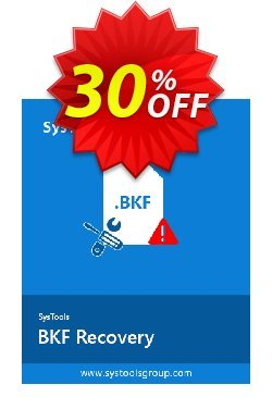 BKF Repair - Business License Coupon, discount SysTools coupon 36906. Promotion: