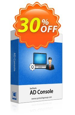 AD Console - Enterprise License Coupon, discount SysTools coupon 36906. Promotion: