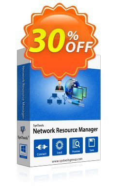 Network Resource Manager - Personal License Coupon, discount SysTools coupon 36906. Promotion: