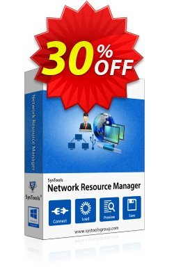 Network Resource Manager - Business License Coupon, discount SysTools coupon 36906. Promotion: