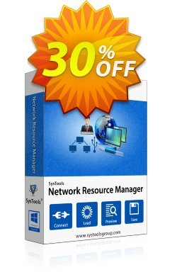 SysTools Network Resource Manager - Enterprise  Coupon discount SysTools coupon 36906. Promotion: