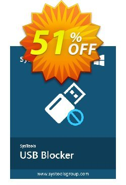 SysTools USB Blocker Coupon, discount SysTools coupon 36906. Promotion: