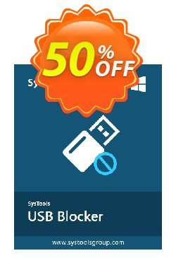 USB Blocker - Business License Coupon, discount SysTools coupon 36906. Promotion: