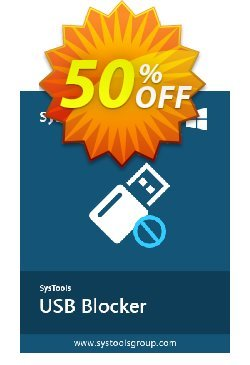 SysTools USB Blocker - Business  Coupon discount SysTools coupon 36906. Promotion: