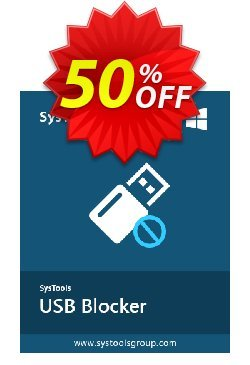SysTools USB Blocker - Enterprise  Coupon discount SysTools coupon 36906 -