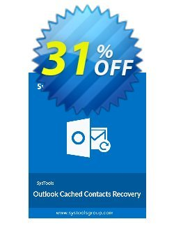 SysTools Outlook Cached Contacts Recovery - Mac  Coupon discount SysTools Mac Outlook Cached Contacts Recovery Amazing sales code 2020 - Amazing sales code of SysTools Mac Outlook Cached Contacts Recovery 2020