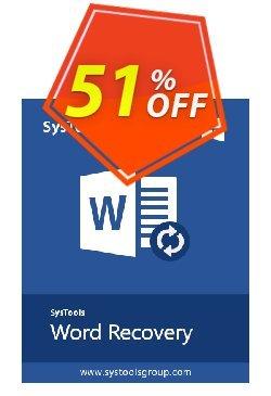 SysTools Word Repair Coupon discount SysTools coupon 36906 -