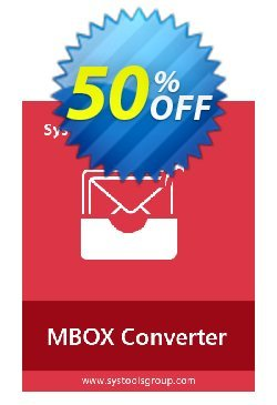 Systools MBOX Converter - Enterprise License  Coupon, discount SysTools coupon 36906. Promotion: