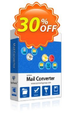Mail Converter - Commercial License Coupon, discount SysTools coupon 36906. Promotion:
