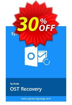 SysTools OST Recovery - Enterprise License  Coupon discount SysTools coupon 36906 -