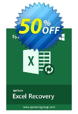 SysTools Excel Recovery - Enterprise License  Coupon discount SysTools coupon 36906 -