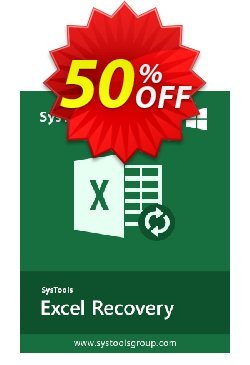 Excel Recovery - Enterprise License Coupon, discount SysTools coupon 36906. Promotion: