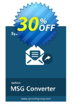 SysTools MAC MSG Converter Coupon discount 30% OFF SysTools MAC MSG Converter, verified - Awful sales code of SysTools MAC MSG Converter, tested & approved