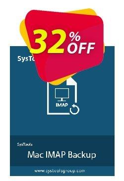 SysTools Mac IMAP Backup Coupon discount 30% OFF SysTools Mac IMAP Backup, verified. Promotion: Awful sales code of SysTools Mac IMAP Backup, tested & approved