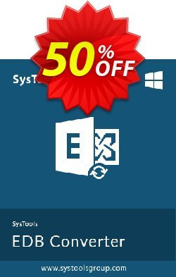 Exchange EDB to EML Converter - Business License Coupon, discount SysTools coupon 36906. Promotion: