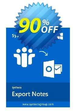 SysTools Export Notes - NSF to PST Converter - Enterprise  Coupon, discount BitsDuJour Daily Deal. Promotion: