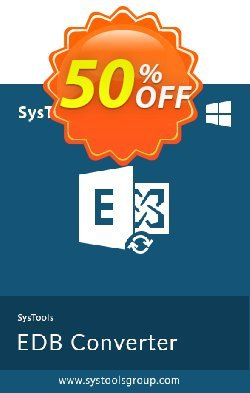 Exchange EDB to EML Converter - Enterprise License Coupon, discount SysTools coupon 36906. Promotion: