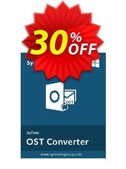Outlook OST to PDF Converter - Business License Coupon discount SysTools Summer Sale. Promotion: