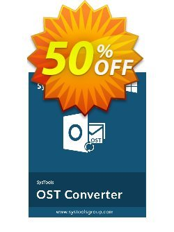 Outlook OST to NSF Converter - Personal License Coupon, discount SysTools coupon 36906. Promotion: