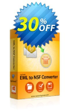 SysTools EML to NSF Converter Coupon discount SysTools Summer Sale -