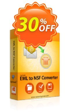 EML to NSF Converter - Personal License Coupon, discount SysTools coupon 36906. Promotion: