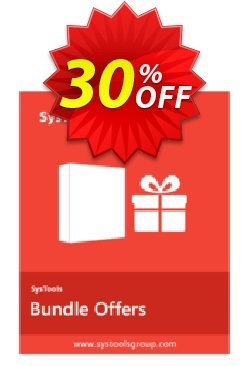 Bundle Offer - Windows Live Mail Converter + DBX Converter Coupon, discount SysTools coupon 36906. Promotion:
