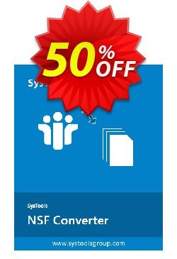 SysTools NSF Converter - 5 NSF files  Coupon discount SysTools coupon 36906 -