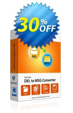 SysTools DXL to MSG Converter - Forensic  Coupon discount SysTools coupon 36906 -