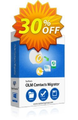 OLM Contacts Migrator - Personal License Coupon, discount SysTools coupon 36906. Promotion: