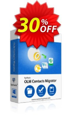SysTools OLM Contacts Migrator - Business License Coupon discount SysTools Summer Sale. Promotion: