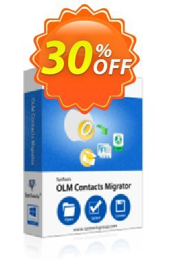 OLM Contacts Migrator - Enterprise License Coupon, discount SysTools coupon 36906. Promotion: