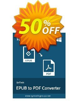 SysTools EPUB to PDF Converter - Enterprise  Coupon discount SysTools coupon 36906 -