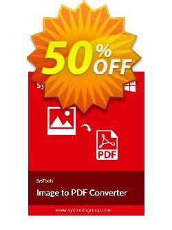 Image to PDF Converter - Business License Coupon, discount SysTools coupon 36906. Promotion: