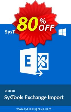 Exchange Import - 200 to 500 Users License Coupon, discount SysTools Summer Sale. Promotion: