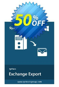 SysTools Exchange Export Coupon, discount SysTools Exchange Export marvelous sales code 2020. Promotion: