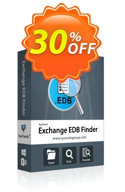 SysTools EDB Finder - Business License  Coupon discount SysTools coupon 36906 -
